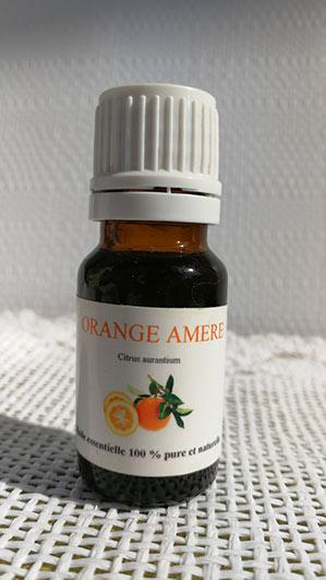 Huile essentielle orange amere